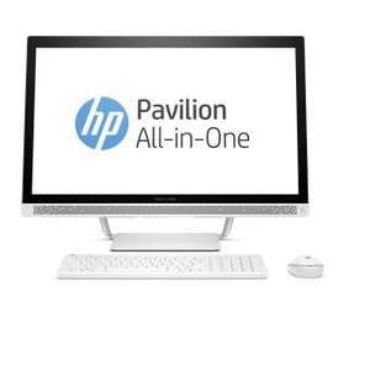"PC tout-en-un 27"" HP Pavilion 27-a212nf - i5-7400T, 4 Go de RAM, 1 To"
