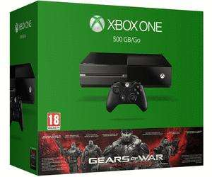 Pack console Microsoft Xbox One (500 Go) + Gears of War - Ultimate Edition