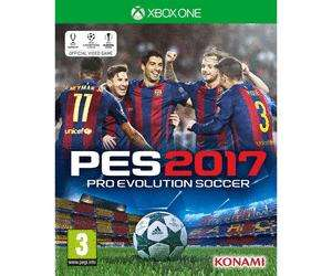 Pro Evolution Soccer 2017 (PES) 2017 sur Xbox One