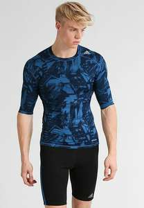Tee-shirt de compression adidas Performance Caraco - bleu (du S au XXL)