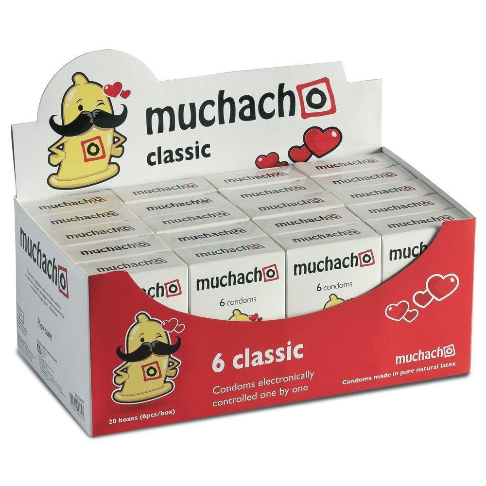 Lot de 20 boîtes de 6 préservatifs Muchacho Classic