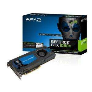 Carte graphique KFA2 GeForce GTX 1080 Ti - 11 Go