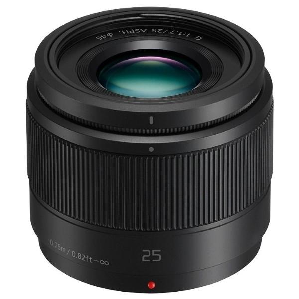Objectif Panasonic 25 mm micro 4/3 f1.7  - Noir