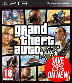 GTA V sur PS3 et Xbox360