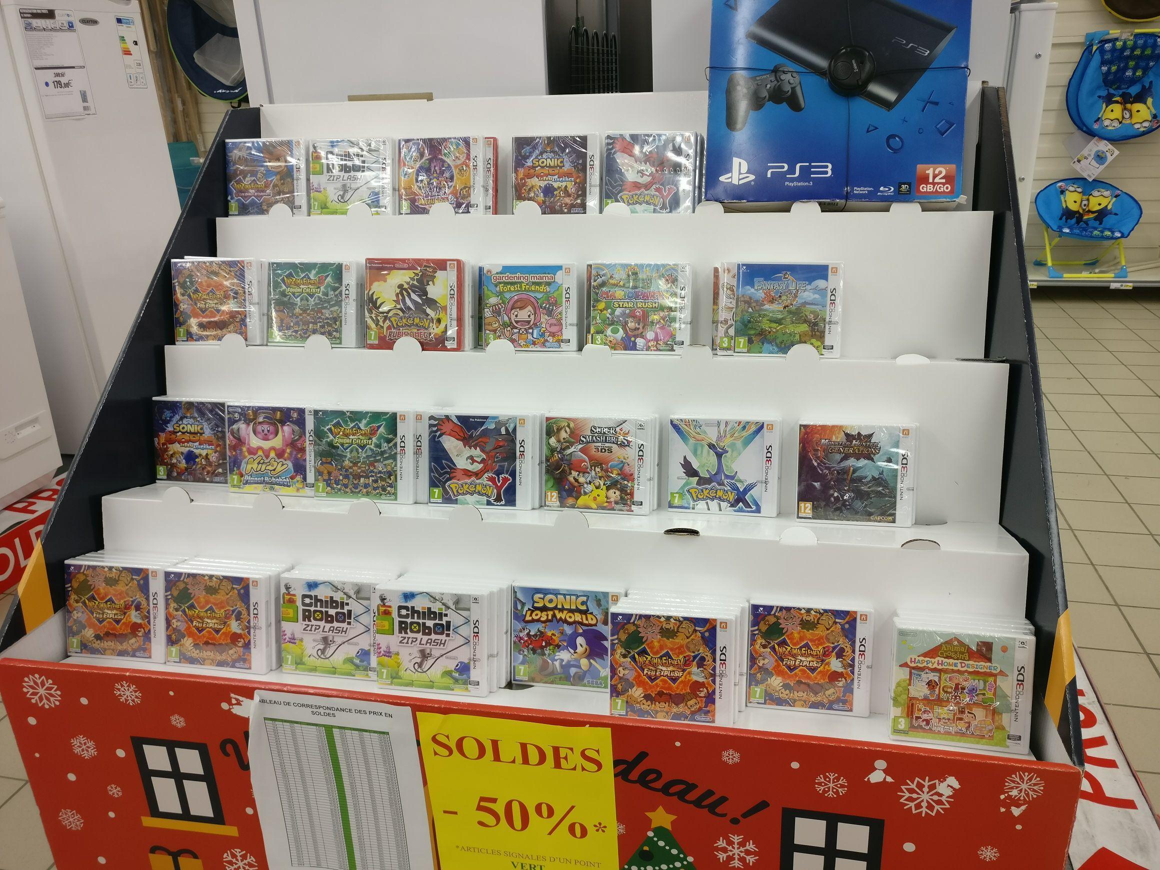 Sélection de jeux vidéo sur 3DS à -50% - Ex: Pokémon Rubis Omega