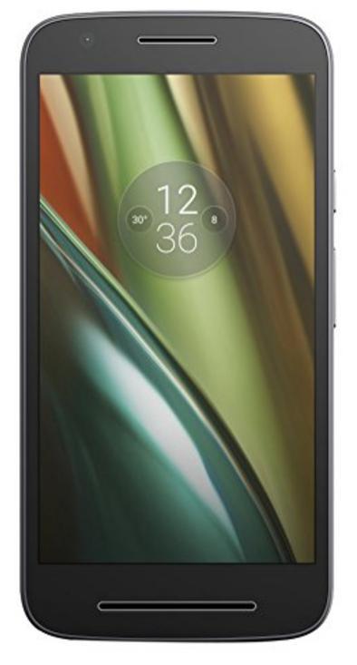 """Smartphone 5"""" Lenovo Moto E3 - 1 Go de RAM, 8 Go, Android 6"""