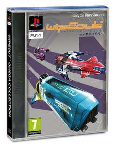 WipEout Omega Collection sur PS4 - Limited Edition (avec pochette classique)
