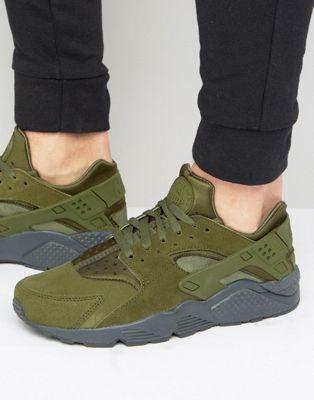 Chaussures homme Nike Air Huarache SE vert