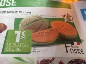 Caisse 5kg Melon - Categorie 1, Origine France