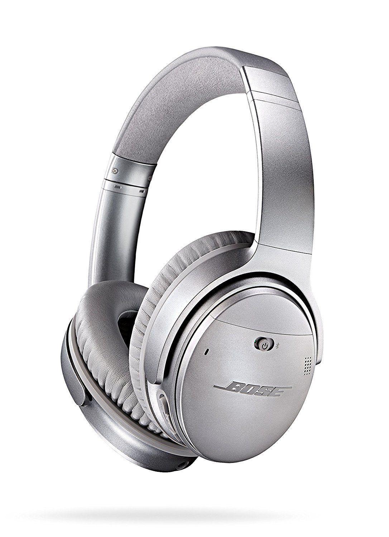 Casque sans fil bluetooth Bose QuietComfort 35 - Gris