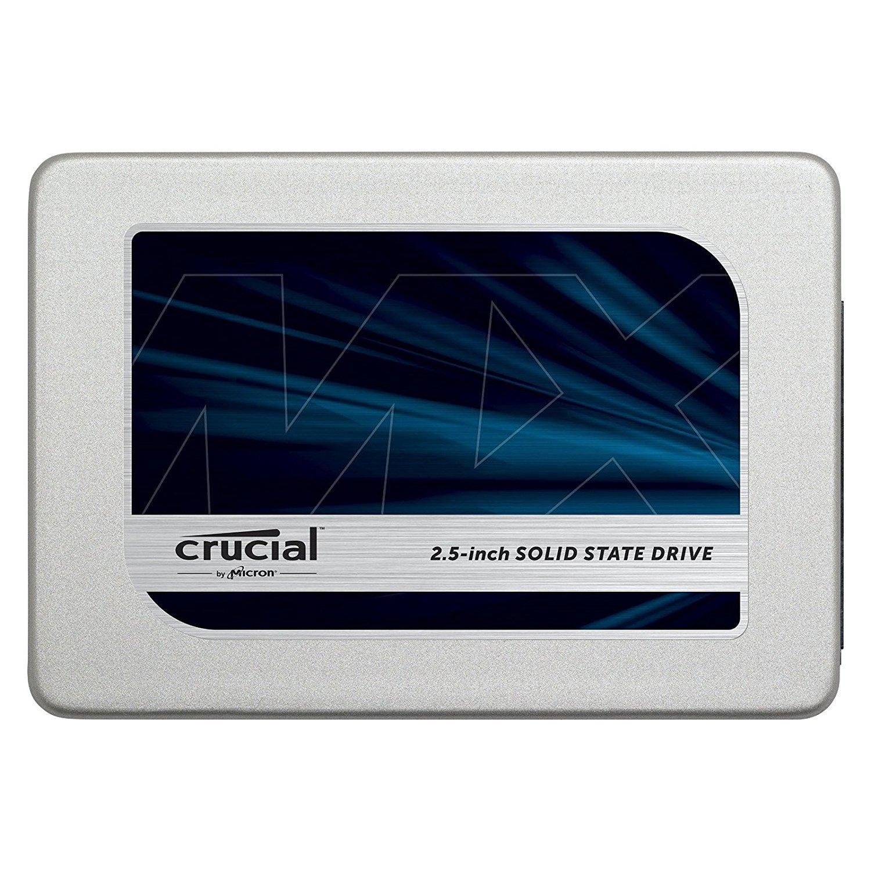 """SSD 2.5"""" Crucial MX300 (Mémoire TLC 3D) - 525Go"""
