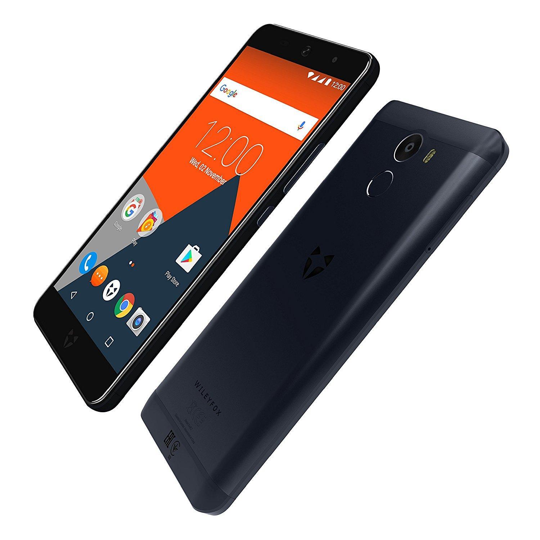 "Smartphone 5"" Wileyfox Swift 2 Dual SIM Midnight Blue (Octa-core Snapdragon 430 1,4GHz, RAM 2Go, ROM 16Go, 4G B20, Android 7.1.2)"