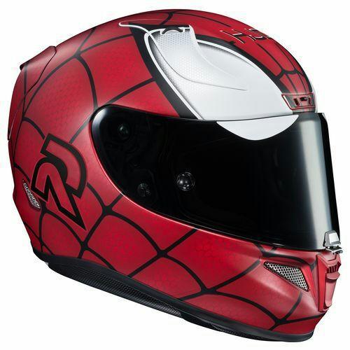 Casque de moto Spiderman HJC RPHA 11
