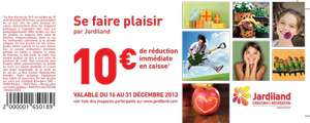 10 € de réduction sans minimum