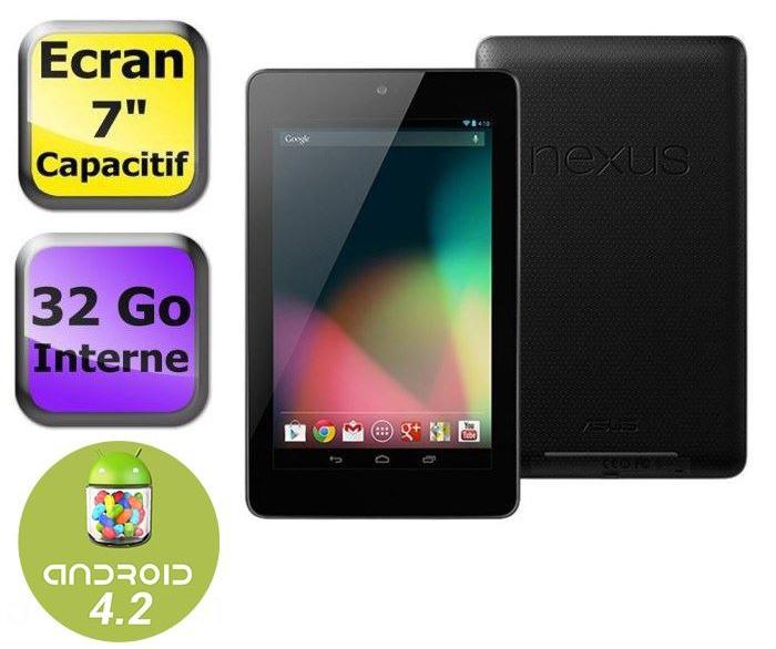 Asus Nexus 7 32 Go Wifi (2012) - Reconditionnée