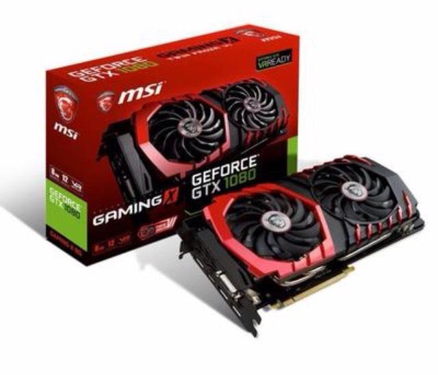 Carte graphique MSI GeForce GTX 1080 Gaming X 8 Go