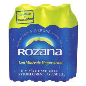2 pack de 6*1L Eau Minérale Rozana