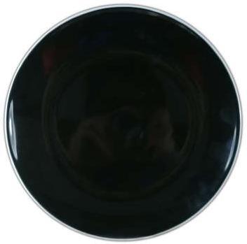 Assiette à Dessert Candi Noir - 20cm
