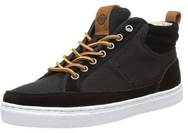 Chaussures Sneaker Dickies Connecticut Noir pour Hommes - Tailles au choix