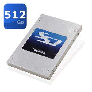 "Disque SSD Toshiba 512Go SSD 2,5"" Q Series - Sata III (écriture 552Mb/s et lecture 501Mb/s)"