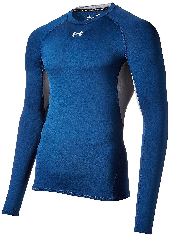 Tee shirt à manches longues Under Armour UA Maillot de HG LS pour homme (uniquement en XXL)