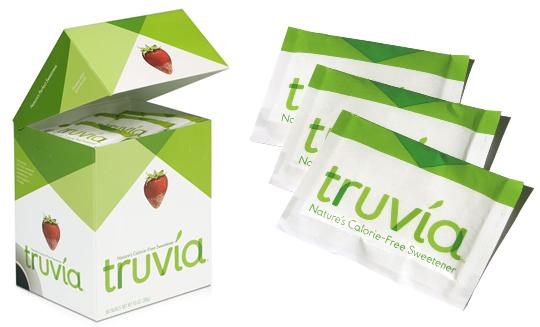 2 sachets gratuits d'édulcorant Truvia