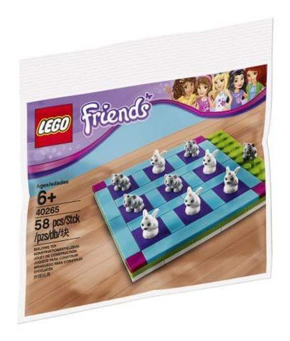 Polybag Lego Friends 40265 Tic-Tac-Toe offert pour tout achat de produits de la gamme Lego Friends