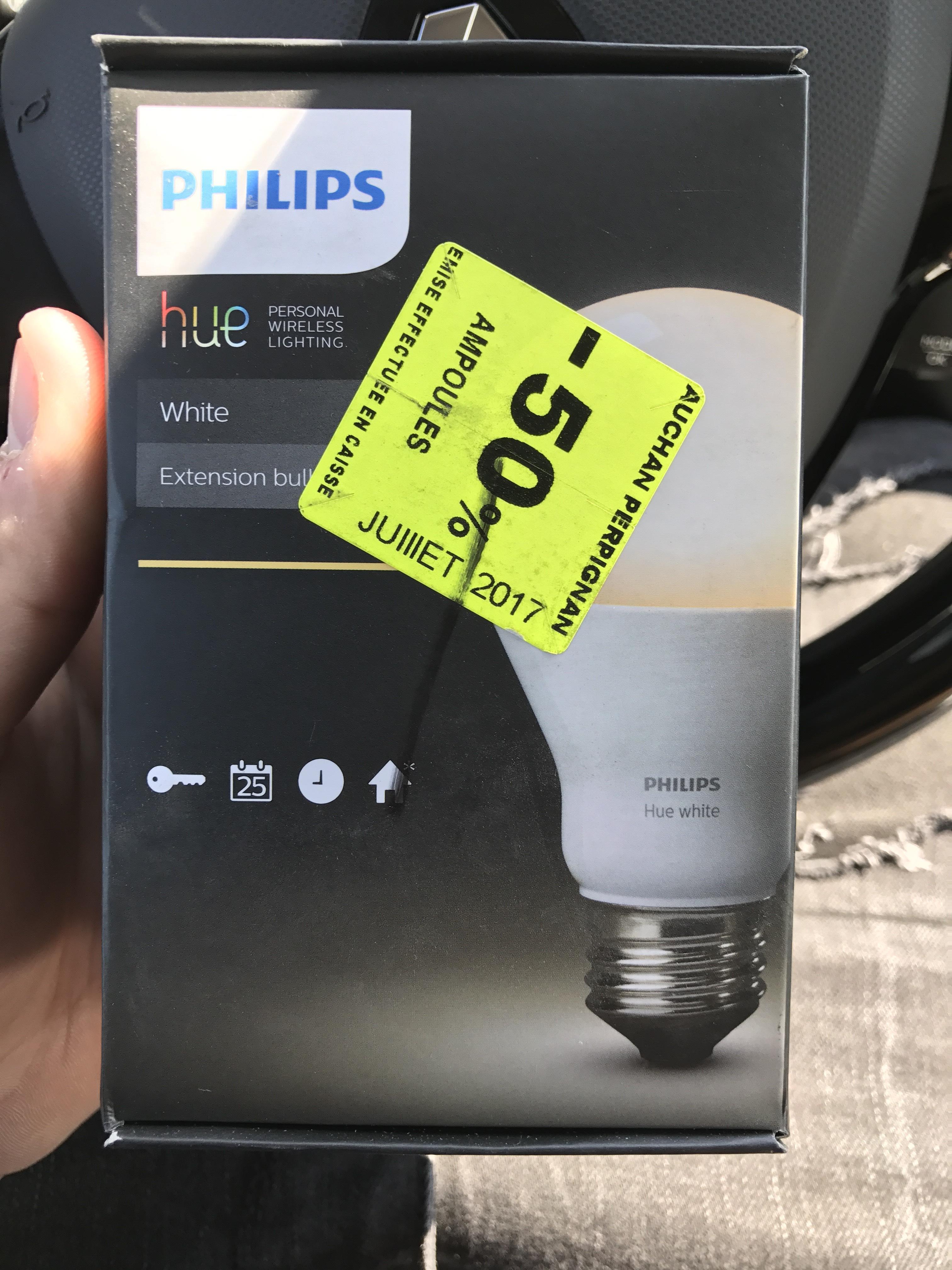 Ampoule Philips Hue White E27