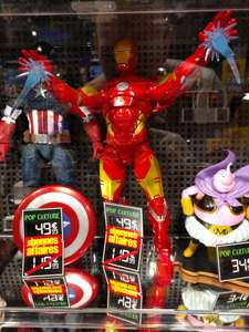Sélection de figurines Pop Culture en promotion - Ex : Iron Man