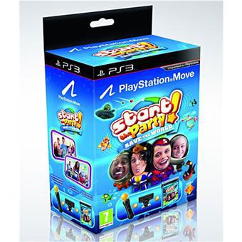 Pack découverte PlayStation Move (Manette + Caméra) + Start The Party 2