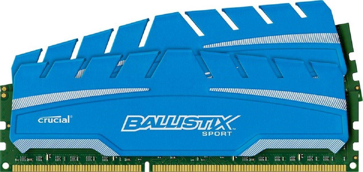 [Prime DE] Kit de RAM Crucial Ballistix Sport XT DDR3 PC3-12800 CL9  - 8 Go (2x4)