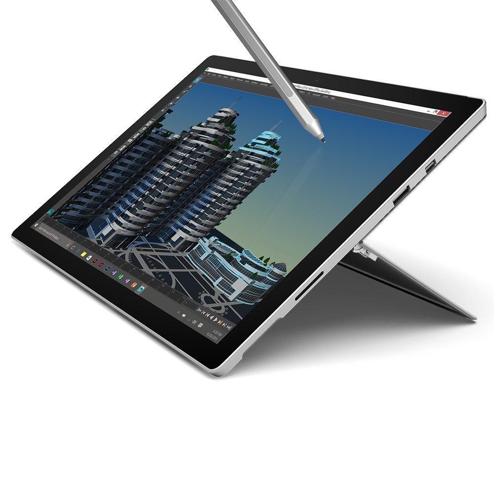 """Sélection de Tablettes 12.3"""" Microsoft Surface Pro 4 en promotion - Ex: Modèle I5 6300U (2,4 Ghz), 4 Go RAM , SSD 128 Go, stylet inclus"""