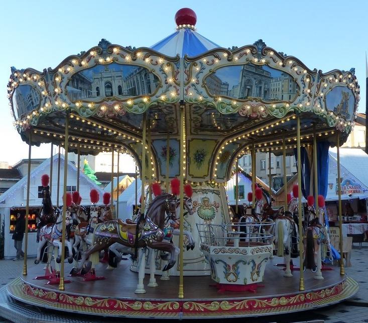 2 tickets gratuit Carrousel Nancy Place Charles III