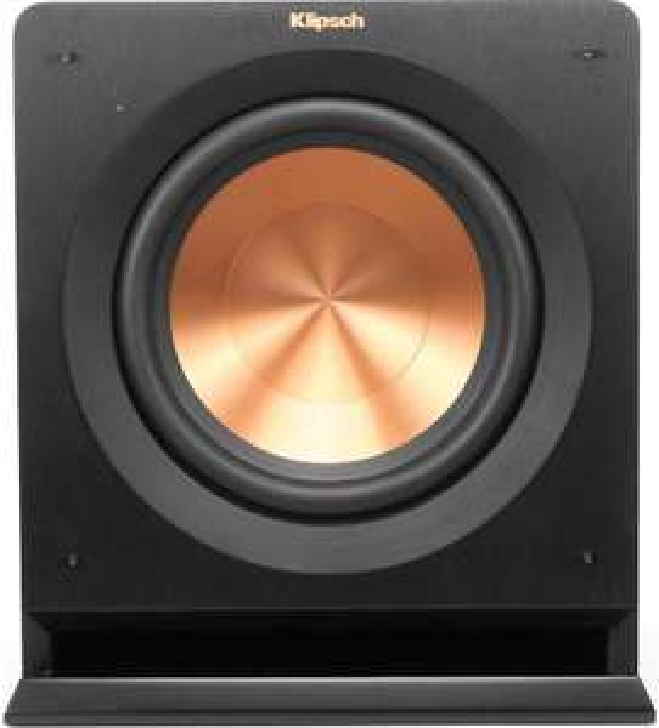 Caisson de basses actif Klipsch R-110 SW (25 cm, 450 W, 27 Hz, 114 dB, 17.8 Kg )