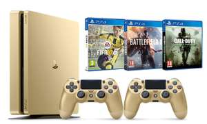 [Prime] Pack Console PS4 Gold 500Go + 2ème manette + FIFA 17 + Battlefield 1 + Call of Duty: Modern Warfare Remastered