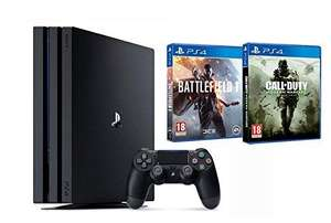 [Prime] Pack console Sony PS4 Pro + Battlefield 1 + Call of Duty: Modern Warfare Remastered