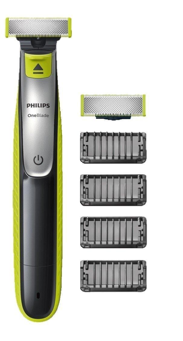 [Prime] Rasoir Philips OneBlade  QP2530/30 avec lame de rechange + 4 sabots