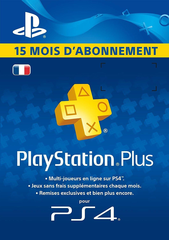 [Prime] Abonnement 15 mois au Playstation Plus