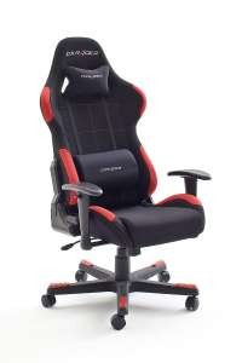 [Prime] Fauteuil de bureau DXRacer Racer 1 Robas Lund - noir / rouge