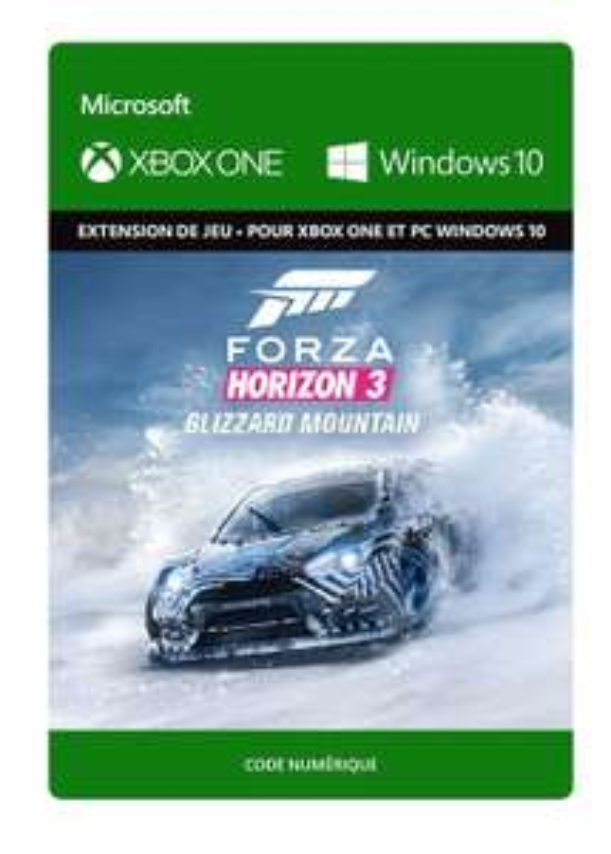 [Prime] DLC Forza Horizon 3: Blizzard Mountain sur Xbox One (dématérialisé)
