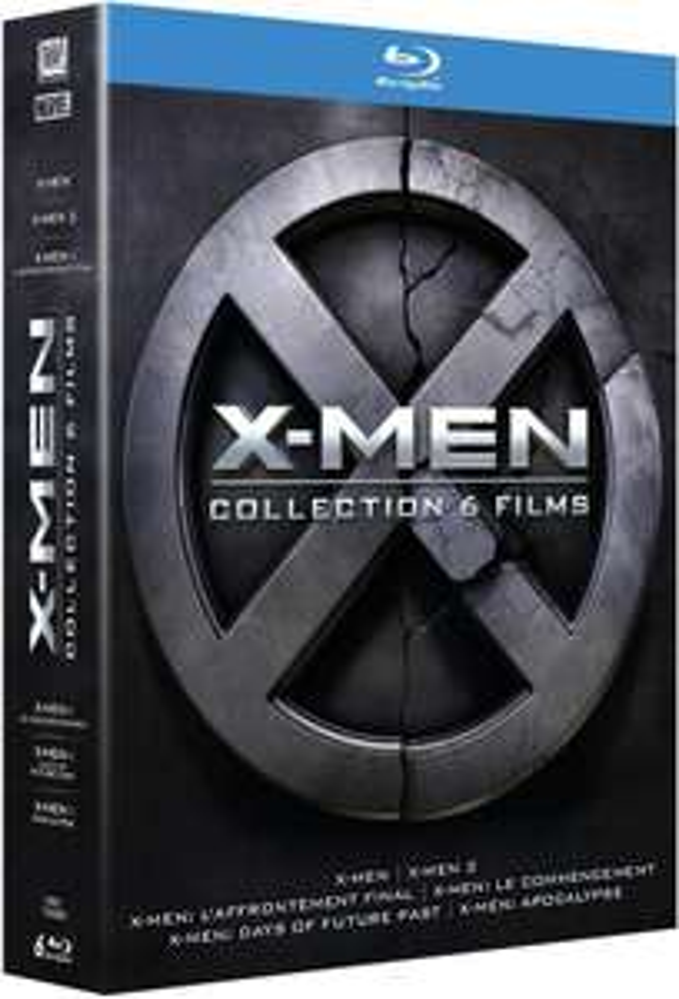 [Prime] X-Men - L'intégrale : La Prélogie + La Trilogie en Blu-ray