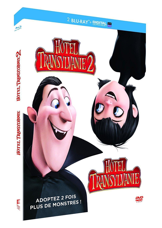 [Prime] 50% de réduction supplémentaire sur une sélection de 115 Blu-ray/DVD - Ex : Hôtel Transylvanie 1 et 2 [Blu-ray + Copie digitale]