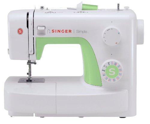 [Prime] Machine à Coudre Singer 3229 MC Simple Blanc 30 x 17 x 40 cm
