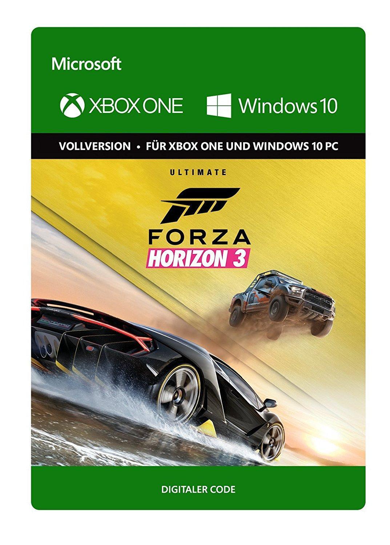 Forza Horizon 3 - Ultimate Edition sur Xbox One / PC (Dématérialisé)