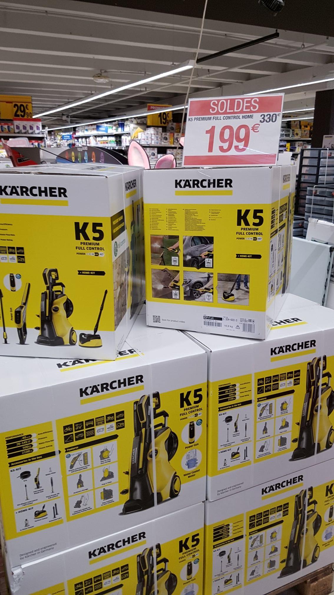 Nettoyeur haute pression Karcher K5 Premium Full Control + Home Kit