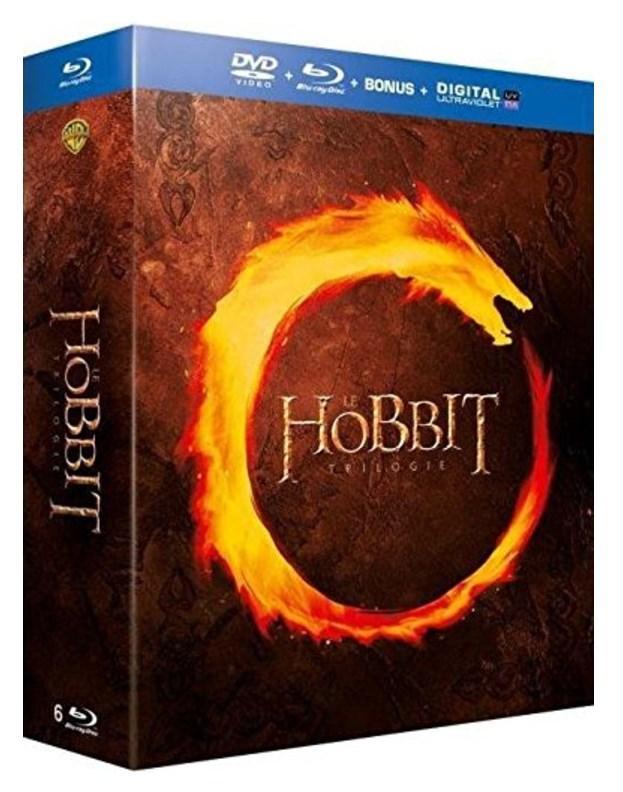 [Prime] Coffret Blu-ray + DVD + Numérique : Le Hobbit - La trilogie