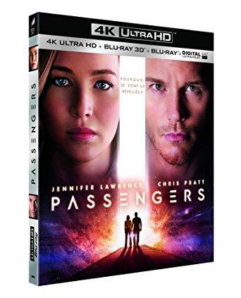 [Prime] Blu-ray UHD + Blu-ray 3D + Blu-Ray + Ultraviolet : Passengers