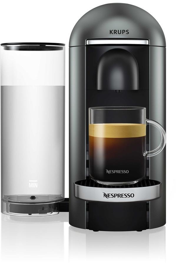 Machine à café Nespresso Krups YY2778FD Vertuo Titane