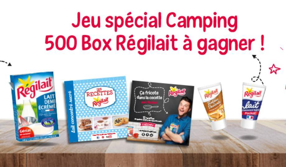 Box Régilait : Boîte de lait en poudre + 2 livrets de recettes + 2 tubes gourmands gratuit