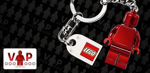 [Nouveaux inscrits] Porte-clés LEGO VIP offert pour toute commande